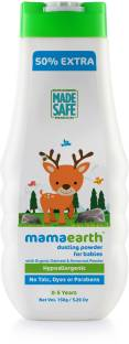 MamaEarth Talc Free Organic Dusting Powder for Babies, Arrowroot and Oat Starch