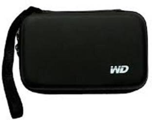RANKONE POUCH FOR WD HARD DISK DRIVE CASE (BLACK) 2.5 inch POUCH