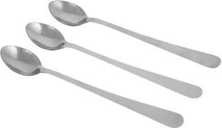 Agromech SS SODA SPOON Stainless Steel Long Drink Spoon Set