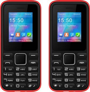 I Kall K34 Combo of Two Mobiles