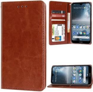 Unistuff Flip Cover for Nokia 4.2