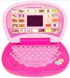 KRISHNA Educational Computer With Led Screen mini laptop Toy For Kids