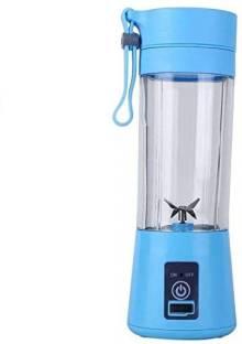 WDS UBX 67 ®Rechargeable Portable Electric 380 ml Juicer Blender Cup 0 Juicer Mixer Grinder (1 Jar,...