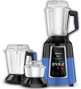 HAVELLS MIXER GRINDER SONIDO-I 1200 Mixer Grinder (3 Jars, Blue)
