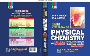 GRB A TEXTBOOK OF PHYSICAL CHEMISTRY FOR NEET