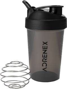 Adrenex by Flipkart BPA Free Gym Bottle with Mixer Ball 500 ml Shaker