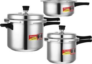 Prestige Popular Plus 2 L, 3 L, 5 L Induction Bottom Pressure Cooker