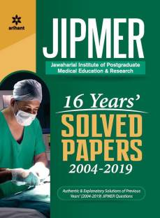 16 Years' Jipmer Solved Papers