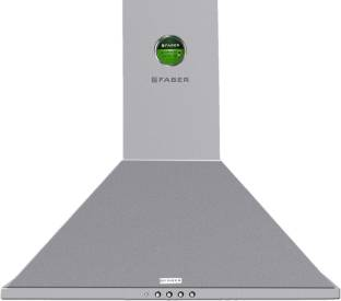 Faber Hood Topaz 3D T2S2 LTW 60 Wall Mounted Chimney