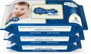 Billion Extra Soft Baby Wipes with Aloe Vera