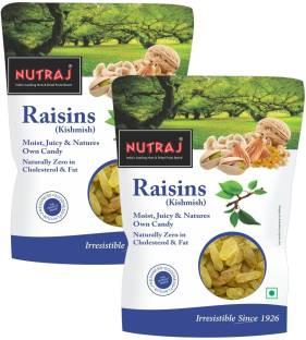 Nutraj Special Raisins (Kishmish)- Round Raisins