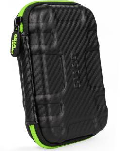 Gizga Essentials Carbon Fibre 2.5 inch External Hard Drive Case