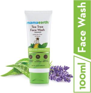 MamaEarth Tea Tree Natural  with Neem for Acne & Pimples Face Wash