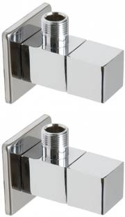 DRIZZLE Angle Cock Square Brass - Set of 2 Faucet Set