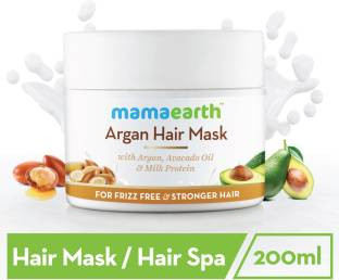 MamaEarth Argan Hair Mask to reduce hairfall and strengthen