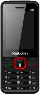KARBONN K88 Dual Sim - Black & Red
