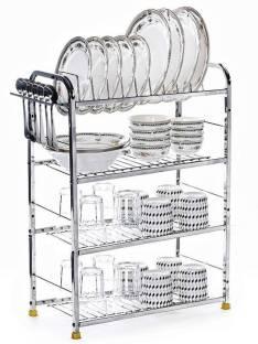 FOXXKING Wall Mount Kitchen Utensils Rack Kitchen Plates Cutlery Stand Utensil Kitchen Rack