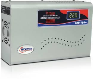 Microtek EM4160+ Digital Display For AC upto 1.5Ton (160V-285V) Voltage Stabilizer