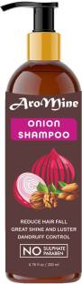 AroMine Natural & Organic Red Onion Shampoo