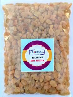 Goddess Premium Raisins(Kishmish) 1 Kg, pack of 1 Raisins