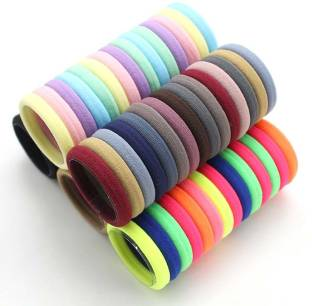 pixelfox Premium Rubber band Colorful Hair bands q Rubber Band
