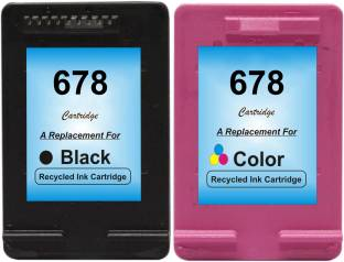 RPS 678 Black   678 Color Cartridge Tri Color Ink Cartridge