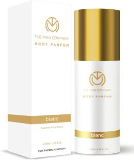 THE MAN COMPANY Non-Gas Body Perfume For Men - Blanc (120 Ml) | No Gas Deodorant | Long Lasting Fragrance | Body Spray For Men Deodorant Spray  -  For Men