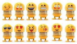 Sipshoppe Emoji Spring smiley doll Decorative Showpiece  -  7 cm