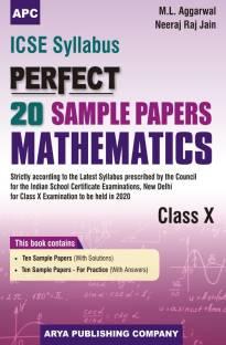 Icse Perfect 20 Sample Papers Mathematics Class-X