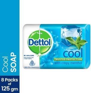 Dettol Bathing Bar Soap, Cool