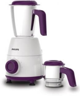 PHILIPS HL7506/00 500 Mixer Grinder (1 Jar, White and Purple)