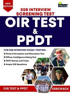 OIR Test & PPDT - SSB Interview Screening Test - Stage 1 Testing