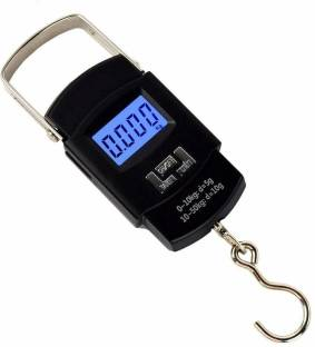 Glun 50 kg Hook Type Digital Led Screen Portable Luggage Weighing Scale Weighing Scale