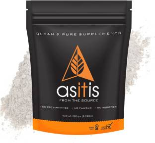 AS-IT-IS Nutrition L-Glutamine for muscle growth and recovery - 250 gms Glutamine
