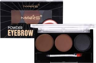 MARS Instant Eyebrow Powder Cake Palette With Brush