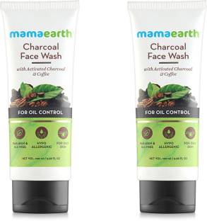 MamaEarth Charcoal Natural  for oil control and pollution defence Face Wash