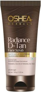 Oshea Herbals RADIANCE D-TAN FACE SCRUB Scrub