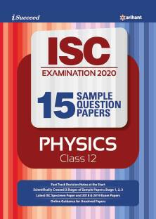 15 Question Sample Papers Isc Physics 2019-20