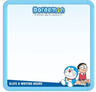 Doraemon 2 In 1 Slate & Writing Board