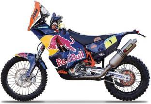 Bburago Die Cast 1:18 Scale KTM 450 Rally (Dakar Rally)