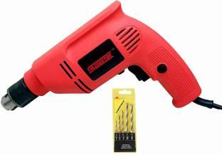 CHESTON Cheston 10mm Powerful Drill Machine CHD6104RED.5WALL Pistol Grip Drill
