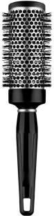 sweetpea Ceramic Ionic Barber Hair Dressing Salon Styling Round Comb Brush (Black)