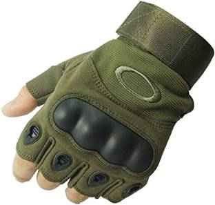 Adventure hut Tactical Military Hard Soft Knuckle Army Combat Riding Gloves (Army) Riding Gloves