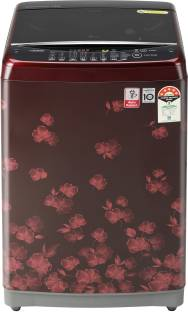 LG 7 kg 5 Star Rating Jet Spray Fully Automatic Top Load Red