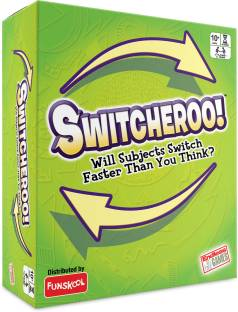 Funskool-Endless Games SWITCHEROO, Subjects switch faster than you think Educational Board Games Board Game