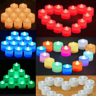 DEEPAK Diwali Special Magic Colour LED Glowing Tea Light Candle