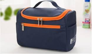 NIRVA Hanging Travel Organizer Cosmetic Polyester Bag Travel Toiletry Kit
