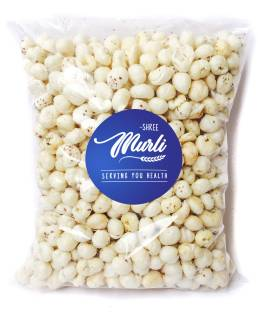 SHREE MURLI Regular Lotus Seed Pop/Gorgon Nut Puffed Kernels (Phool Makhana) Fox Nut Grade - Big Size 200 g