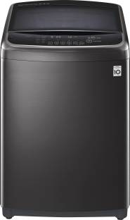 LG 18 kg Fully Automatic Top Load with In-built Heater Black