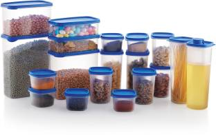 MASTER COOK 19 PC COMBO PACKS  - 2600 ml, 2000 ml, 1500 ml, 975 ml, 800 ml, 750 ml, 500 ml, 250 ml Polypropylene Grocery Container